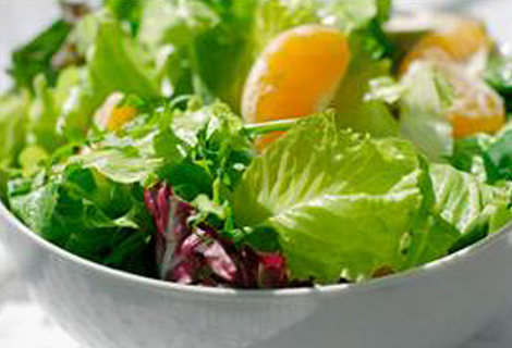 Arugula Salad with Mandarin Oranges